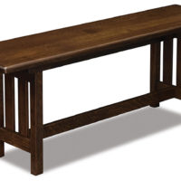 Bay Hill Trestle dining bench