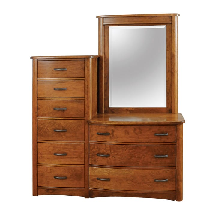 meridian chester and mirror Bedroom Furniture