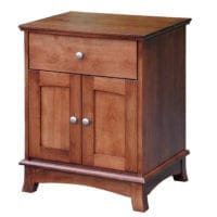 crescent Nightstand Bedroom Furniture
