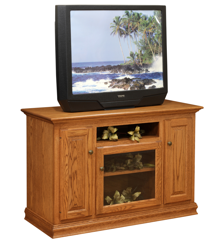 Traditional tv stand herron 39 s amish furniture for Stand traditionnel