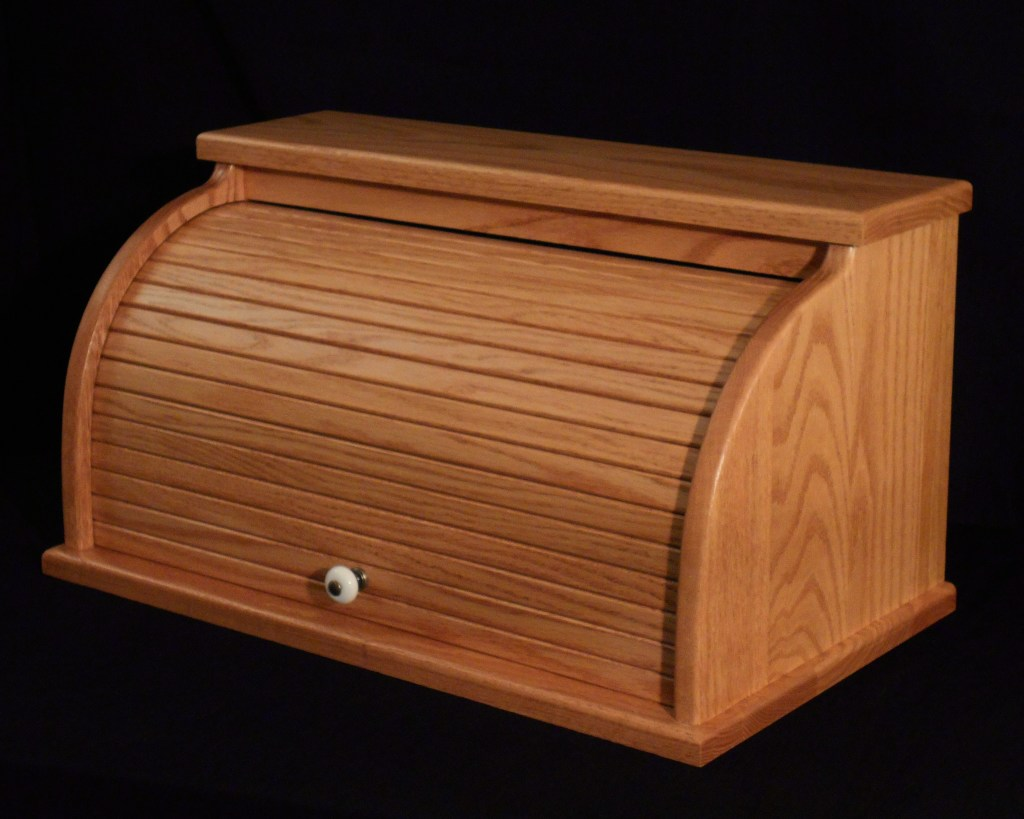 Large Rolltop Bread Box Herron S Amish Furniture