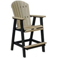 Outdoor barchair Herron's Amish Furniture