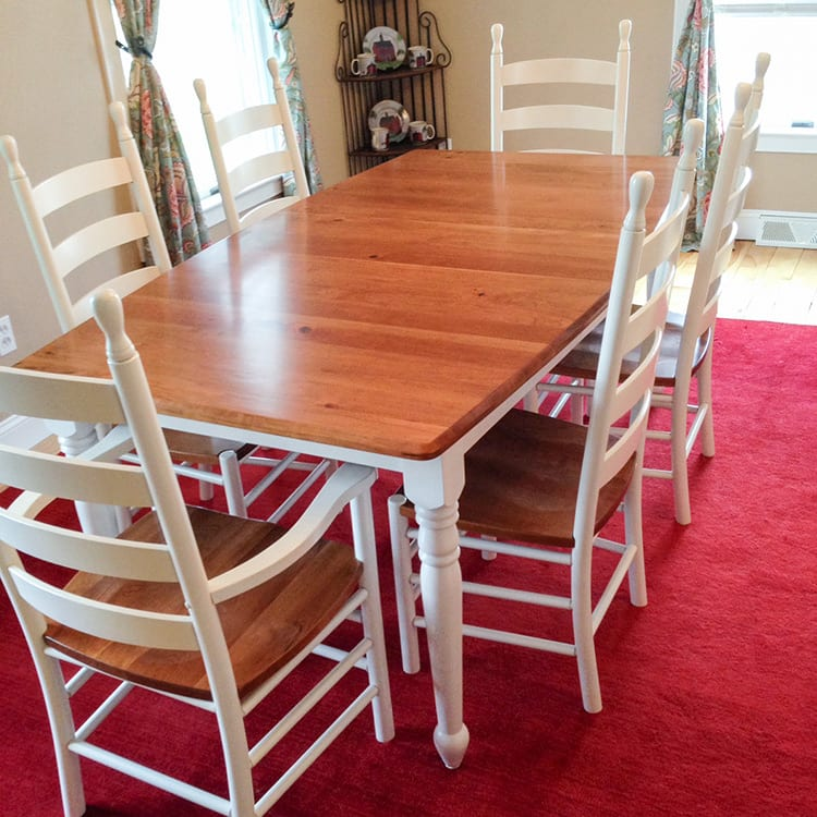 Custom Made Furniture - Dining Room Table Herron's Amish Furniture