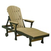 Outdoor lounge chair Herron's Amish Furniture