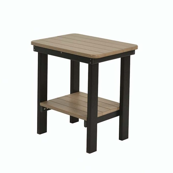 Poly End Table Outdoor Furniture Herron's Amish Furniture