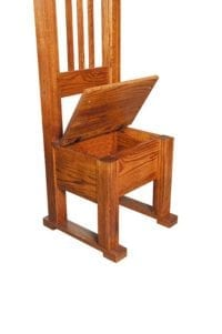 Hall Seat Herron's Amish Furniture