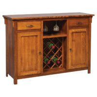 Wine Rack Cabinet Herron's Amish Furniture