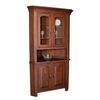 Corner Hutch Herron's Amish Furniture
