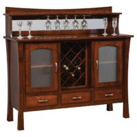 Wine Rack Buffet Herron's Amish Furniture
