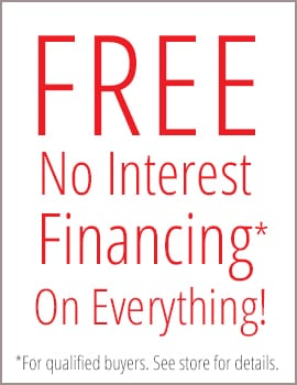Free No Interest Financing for qualified Buyers