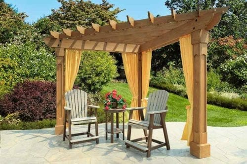 10-Wood-Pergola-with-Alcove-top-and-Grandfather-posts-with-curtains