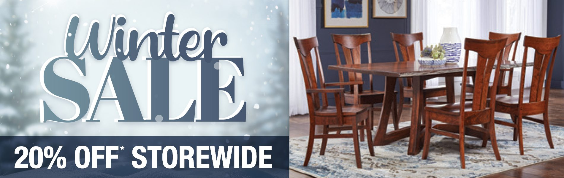 Winter Sale Dining Room