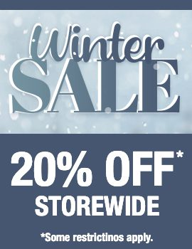 Storewide winter sale